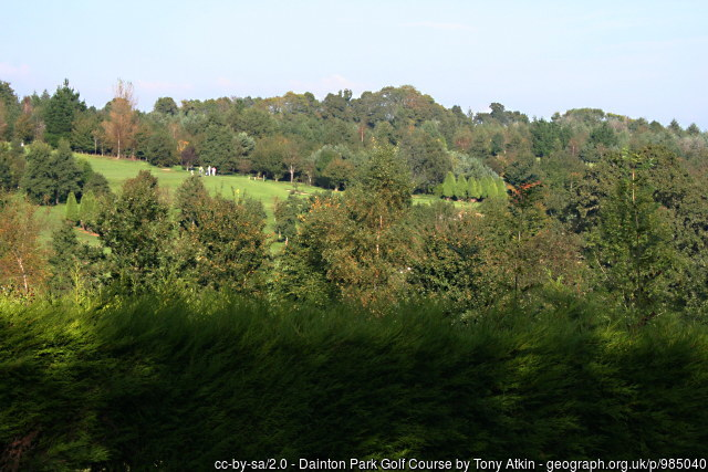 Dainton Park Golf Course