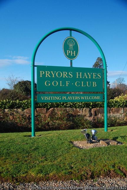 Pryors Hayes Golf Club