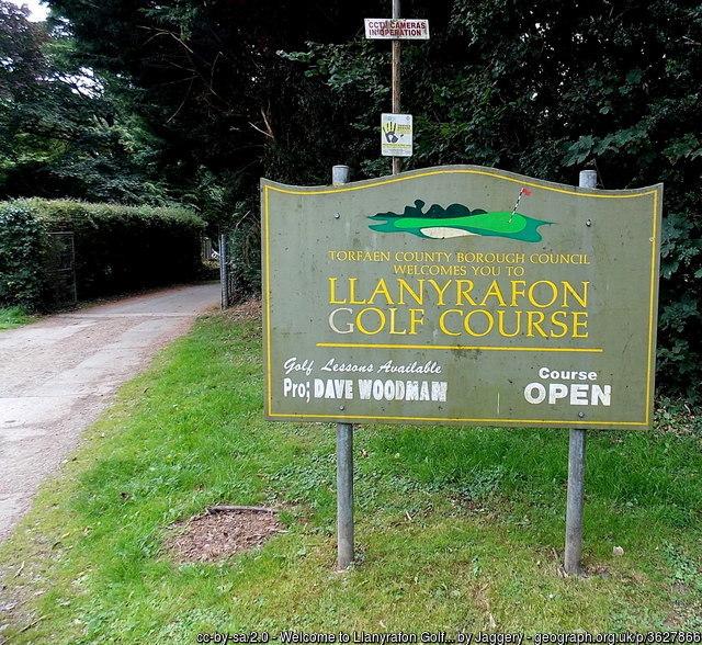Llanyrafon Golf Course